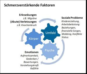 Faktoren chronische Schmerzen - Grafik von Dorothee Timm