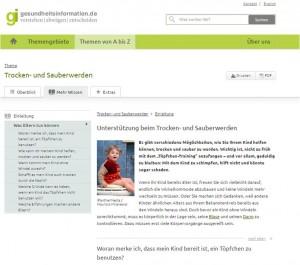 Gesundheitsinformation Infoportal
