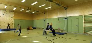 Sporthalle mit Schwingboden auf Gut Holmecke