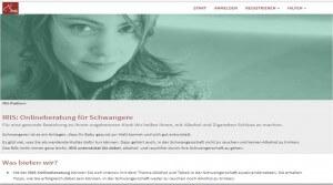 IRIS: Onlineberatung für Schwangere