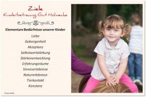 UNIVITA Gut Holmecke Ziele Kinderbetreuung - von Tabea Hettler