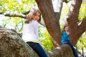 Mutter-Kind-Kur Gut Holmecke: Naturpädagogisches Konzept - Kinder sind viel draußen
