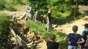 Gut Holmecke Kinderbetreuung Brückenbau