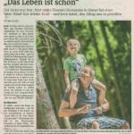 Das Leben ist schön - Bericht über die Vater-Kind-Kur auf Gut Holmecke