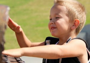 Bewegungstherapie hat Erfolg - Mutter/Vater-Kind-Kur Gut Holmecke