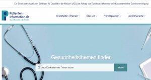 Medizininformationen im Web vertrauen